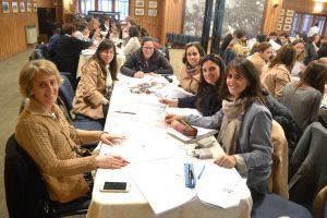 Profesoras del Colegio Los Andes durante la capacitación.